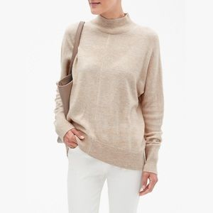 Banana Republic Cashmere Blend Mock Neck Sweater